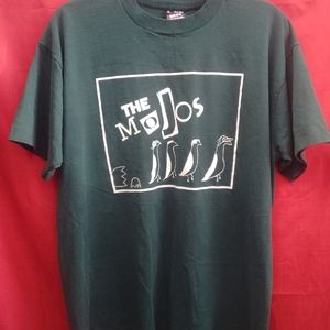 Vintage Large The MoJos Green T-shirt